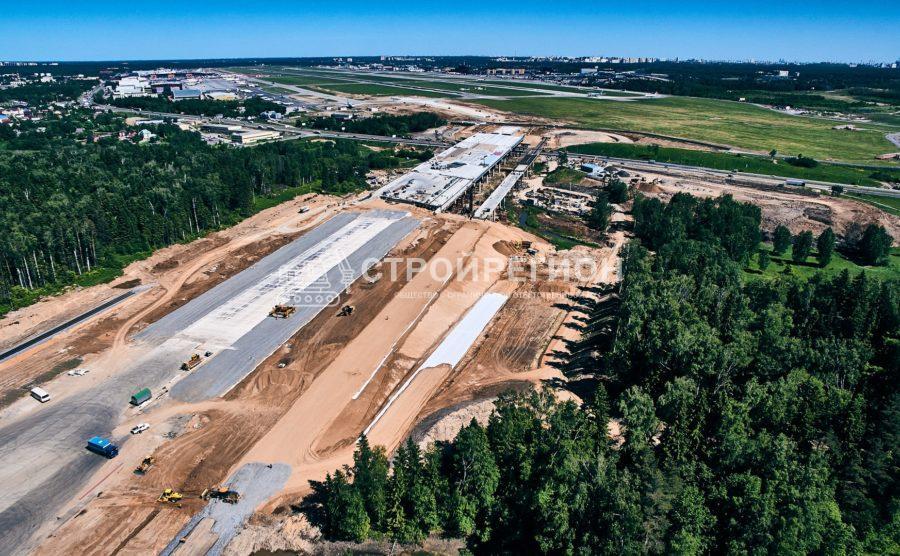 Демонтаж взлетно-посадочной полосы международного аэропортного комплекса г. Казани
