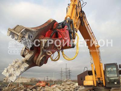 Гидроножницы — универсальное оборудование для демонтажа зданий