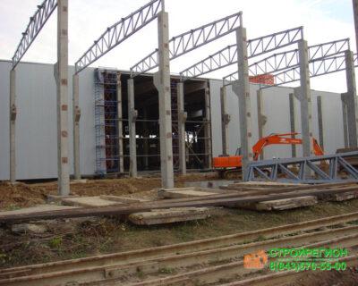 Строительство завода по производству кирпича Wienerberger