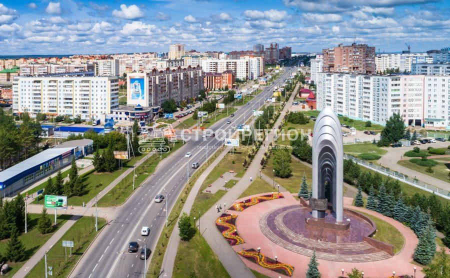 Реконструкция центральной площади, г. Альметьевск