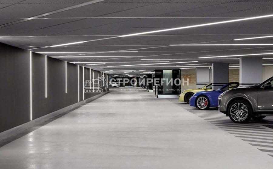 Монолитные подземные гаражи