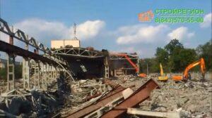 Демонтаж здания в перми