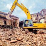 Гусеничные экскаваторы-разрушители для демонтажа зданий