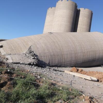 Взрывные работы при демонтаже зданий и сооружений