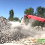 Дробление бетона